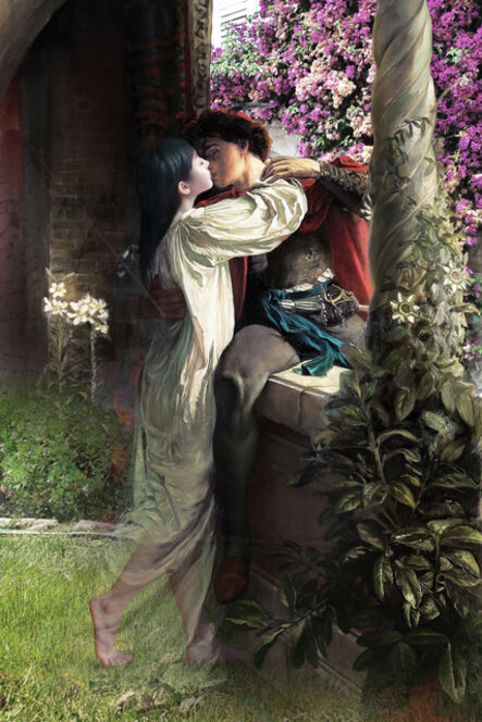 Joonsung Bae, 'The Costume of Painter - Romeo & Dongsook 2', 2015
