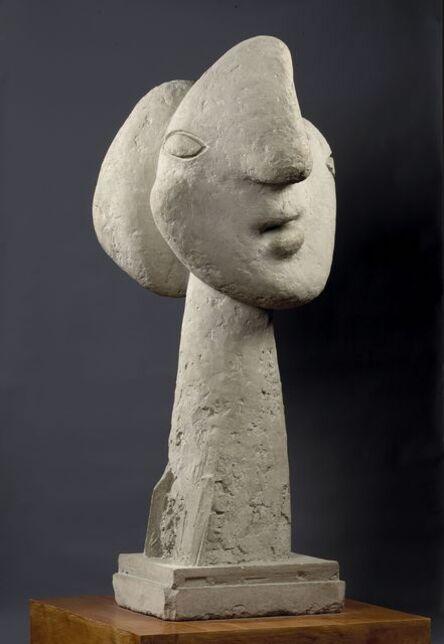 Pablo Picasso, 'Tête de femme au chignon, Boisgeloup ', 1931 (Plaster), April, July 1937