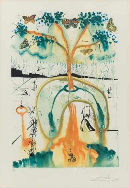 Salvador Dalí, 'Alice's Adventures in Wonderland (complete portfolio of 13)', 1969