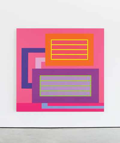 Peter Halley, 'Real Time', 2008