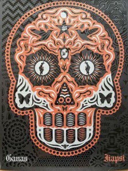 Ernesto Yerena, 'Yaqui Day of the Dead (Copper Silver)', 2020