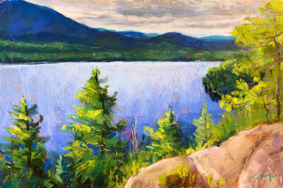 Takeyce Walter, 'Day 15: Silver Lake Overlook ', February 2020