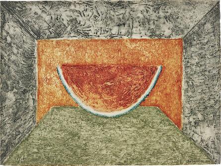 Rufino Tamayo, 'Interior con Sandía (Interior with Watermelon)', 1975