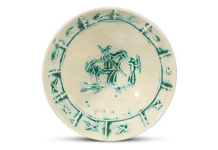 Pablo Picasso, 'Pablo Picasso Madoura Ceramic Bowl - 'Picador,' Ramié 229', 1954
