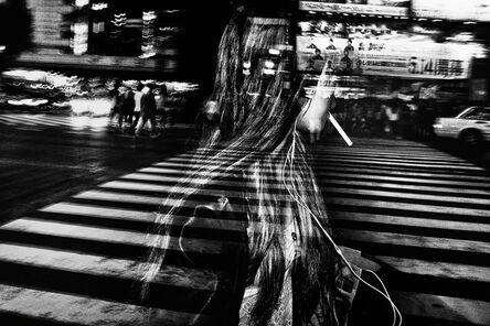 Tatsuo Suzuki, 'A Girl with a Cigarette, Shibuya, Tokyo', 2014