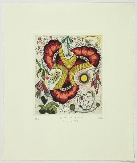 Tony Fitzpatrick, 'Indian Plume', 2002