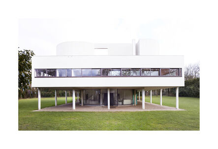 Candida Höfer, 'Villa Savoye (Le Corbusier - ©FLC/ADAGP) Poissy VIII', 2018