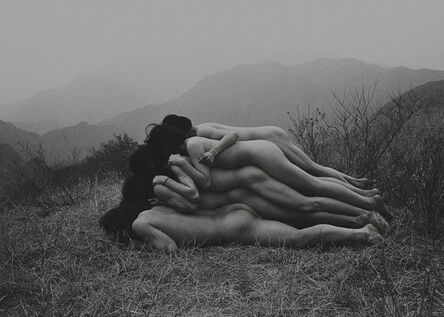 Zhu Ming 朱 冥, 'To Add One Meter to an Anonymous Mountain', 1995