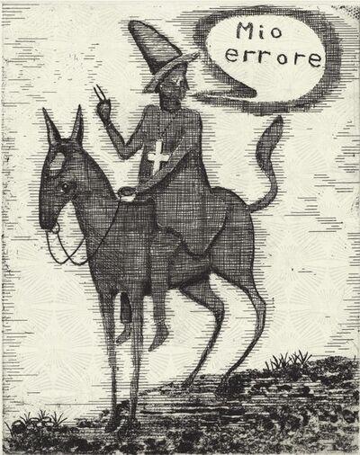 Stephen Chambers RA, 'Mio Errore'