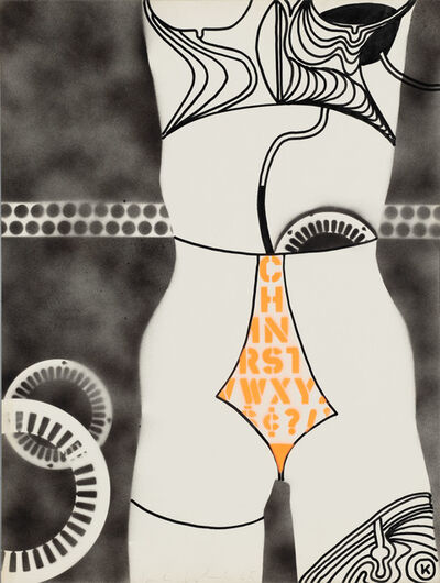 Kiki Kogelnik, 'Untitled (Robot)', 1965