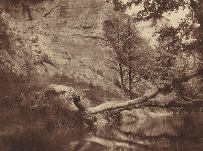 Frank Chauvassaignes, 'Riverbank', ca. 1855