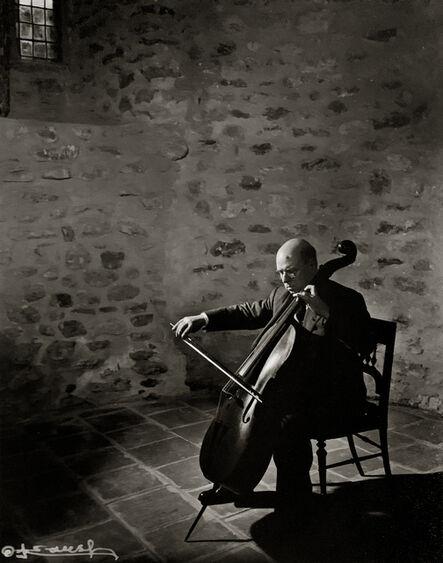Yousuf Karsh, 'Cellist Pablo Casals', 1954