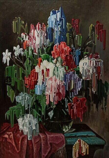 Alexis Mata, 'Bodegón con tulipanes ', 2021