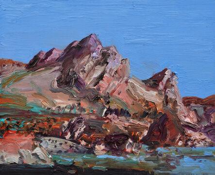 John Hartman, 'Rock Face, Brigus', 2012