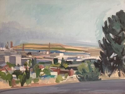 Betsy Kendall, 'Point Richmond From Crest', 2019