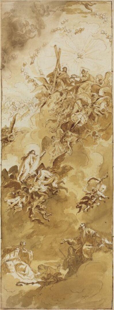 Bartolomeo Tarsia, 'The Coronation of the Virgin', 1730s