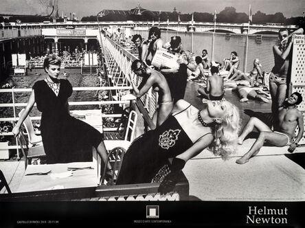 Helmut Newton, 'Jean Patou & Guy Laroche, French Vogue, Paris 1978', 1994