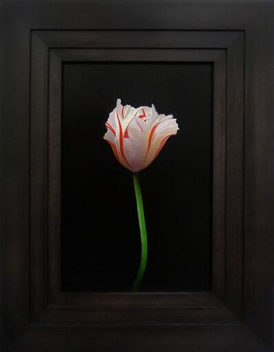 Michael Gregory, 'White and Red Tulip', 2014
