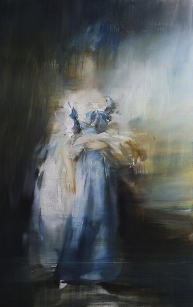 Jake Wood-Evans, 'Sophia Charlotte Digby, Lady Sheffield, after Thomas Gainsborough', 2019