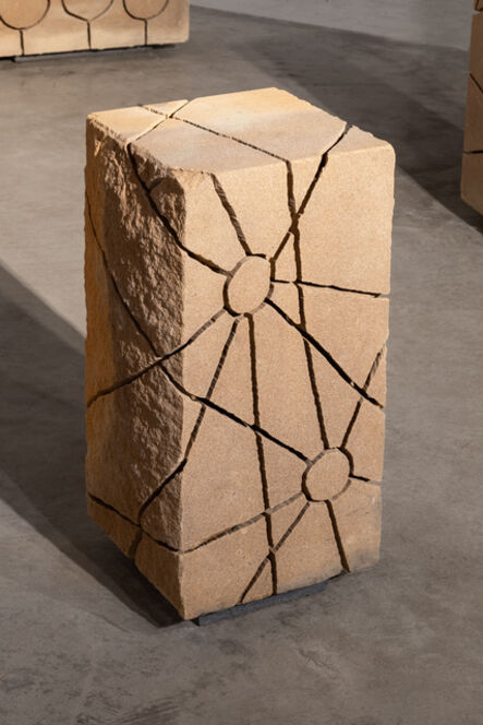 Maria Fernanda Cardoso, 'Two Suns from the Sandstone Drawing Series ', 2021