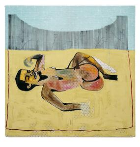 Jonathan Lyndon Chase, 'Man Lying in Garden Bed', 2016
