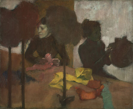 Edgar Degas, 'The Milliners', 1882-1905