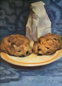 Paul Rahilly, 'Scones with White Bag', 1994