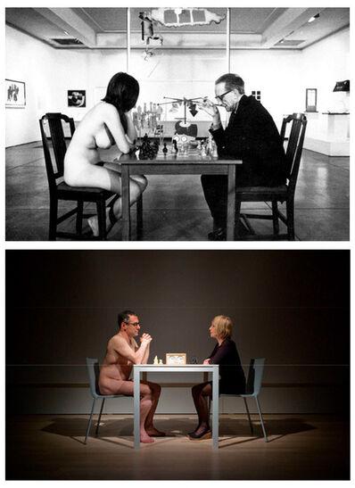 Sanja Iveković, 'Eve's Game with Enrico Lunghi (Mudam, Luxemburg)', 2011