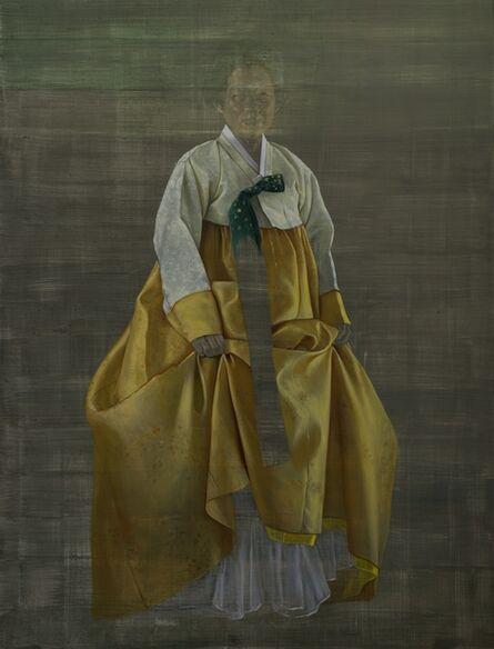 Helena Parada-Kim, ' Chong-Za, grey to yellow', 2016