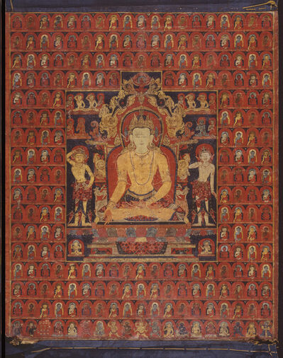 'The cosmic Buddha Ratnasambhava', ca. 1200-1300