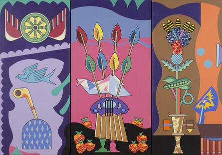 Trevor Winkfield, 'Venetian Panels', 2004