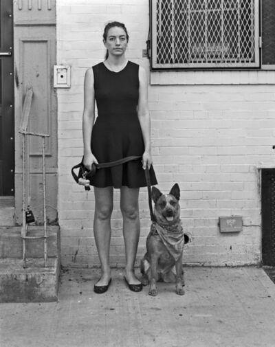 Robert Kalman, 'Claire with Laika', 2016