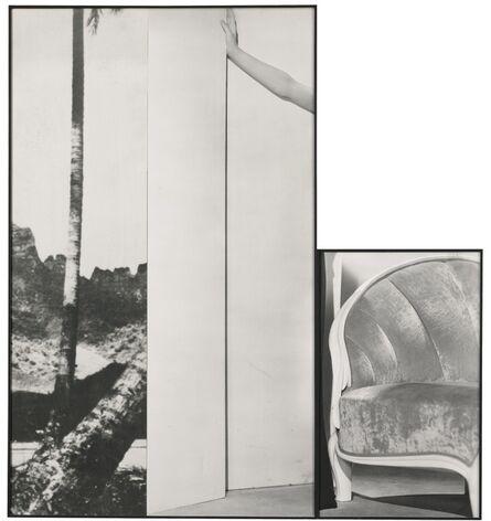 John Baldessari, 'Tree, Hand, Chair', 1988