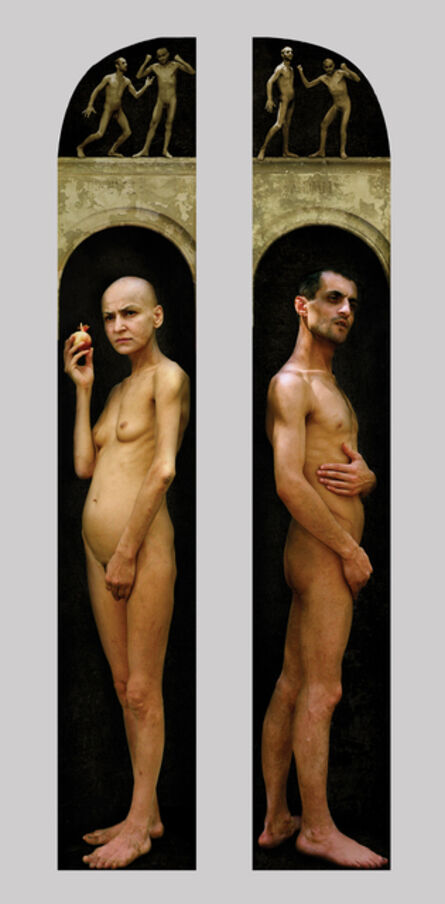 Raoef Mamedov, 'Adam and Eve. Diptych', 2000