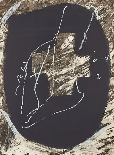 Antoni Tàpies, 'Untitled'