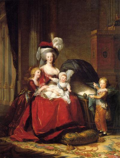 Élisabeth Louise Vigée-Le Brun, 'Portrait of Marie Antoinette with Her Children', 1787