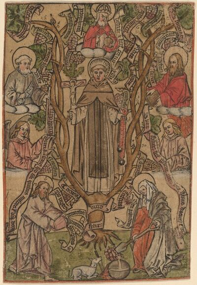 Master S, 'Saint Dominic'