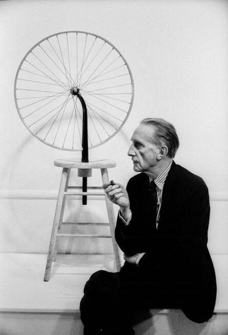Julian Wasser, 'Marcel Duchamp, Duchamp Retrospective, Pasadena Art Museum', 1963