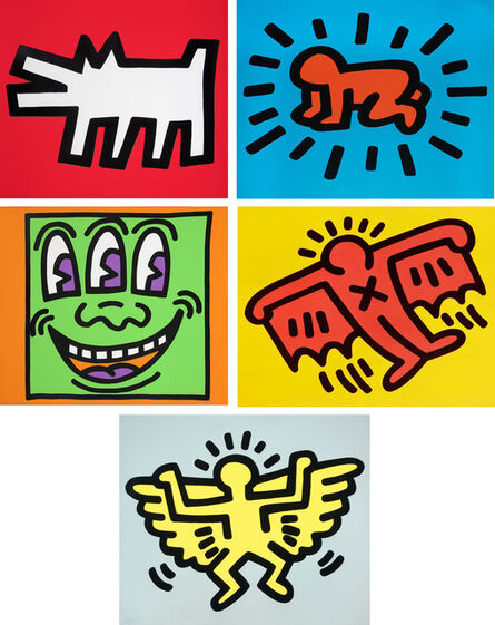 Keith Haring, 'Icons ', 1990