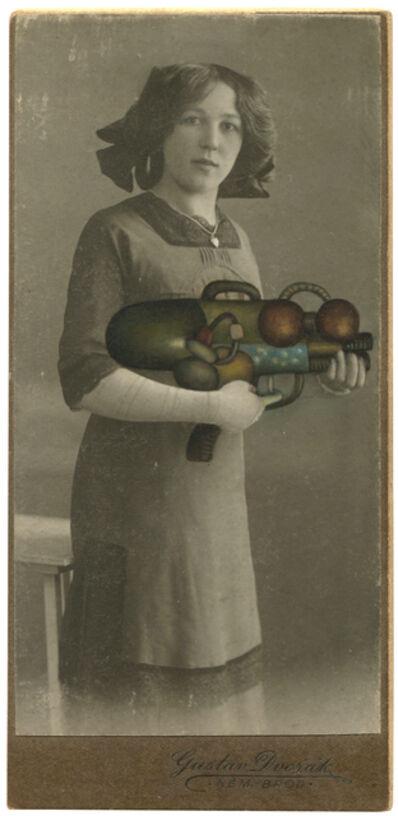 Jana Paleckova, 'Untitled (Woman with Gun)', 2016