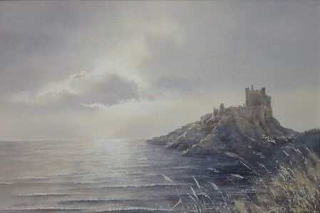 Gillie Cawthorne, 'Bamburgh Castle Sunrise', 2008