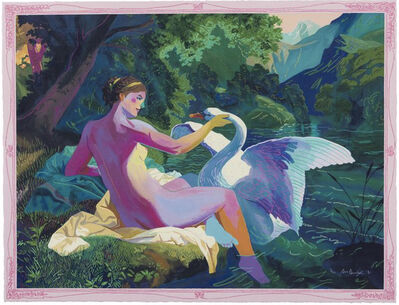Andy Dixon, 'Leda and the Swan Painting', 2021