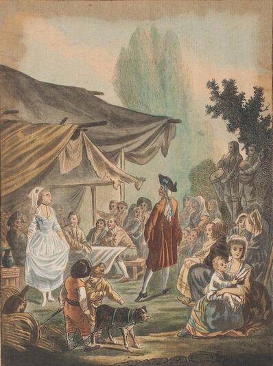 Charles-Melchior Descourtis, 'Noce de Village', 1785