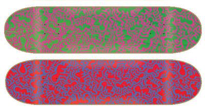 Keith Haring, 'Untitled (skateboard set of 2)', ca. 2013
