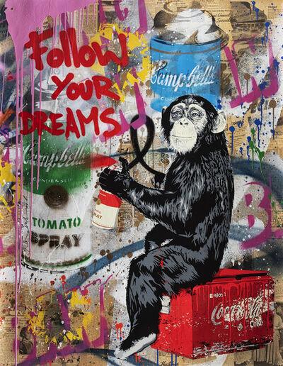 Mr. Brainwash, 'Follow Your Dreams', 2019