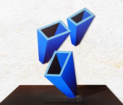Daniel Sanseviero, 'Perspectiva Azul (Chica)', 2019