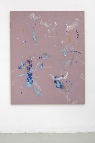 Bas van den Hurk, 'I was thinkin' about turquoise, I was thinkin' about gold (For Marieke)', 2017