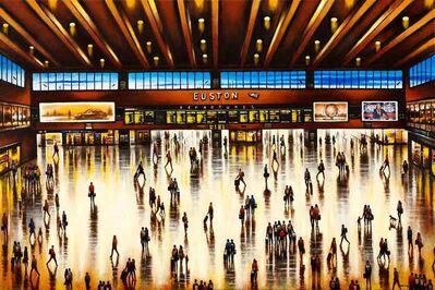 John Duffin, 'Euston Station Concourse', 2020