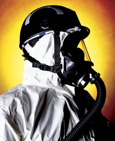 Andres Serrano, 'Thomas Buda, Hazmat Chemical Biological Weapons Reponse Team (America)', 2002