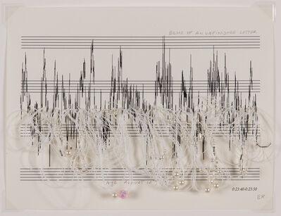 Elena del Rivero, 'Echo of an Unfinished Letter', 1999